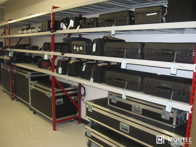 Preserve all the expensive technology your theatre troupe uses with better shelving options.