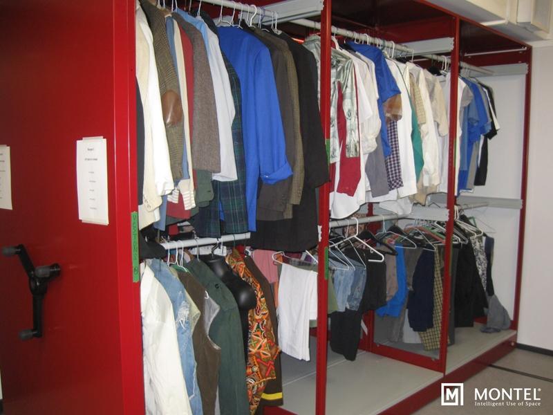 Smarter clothing racks ensure everyone looks good on opening night.