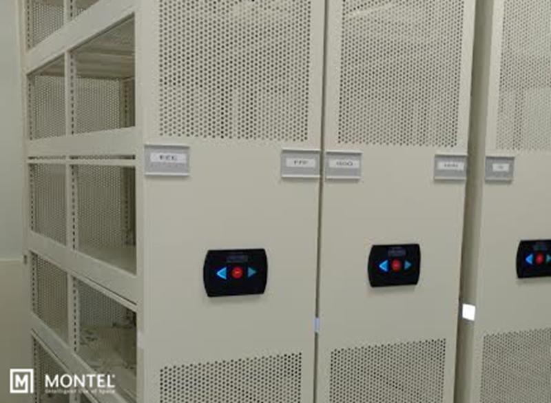 End-panel perforations improve circulation.