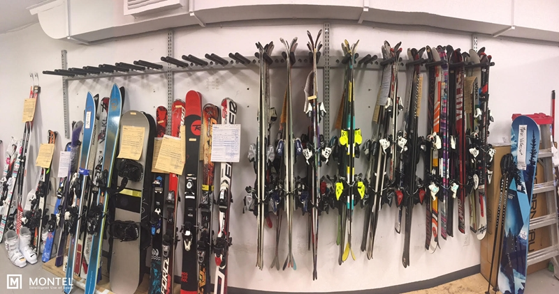 Who New Skis Could Be So Organized?
