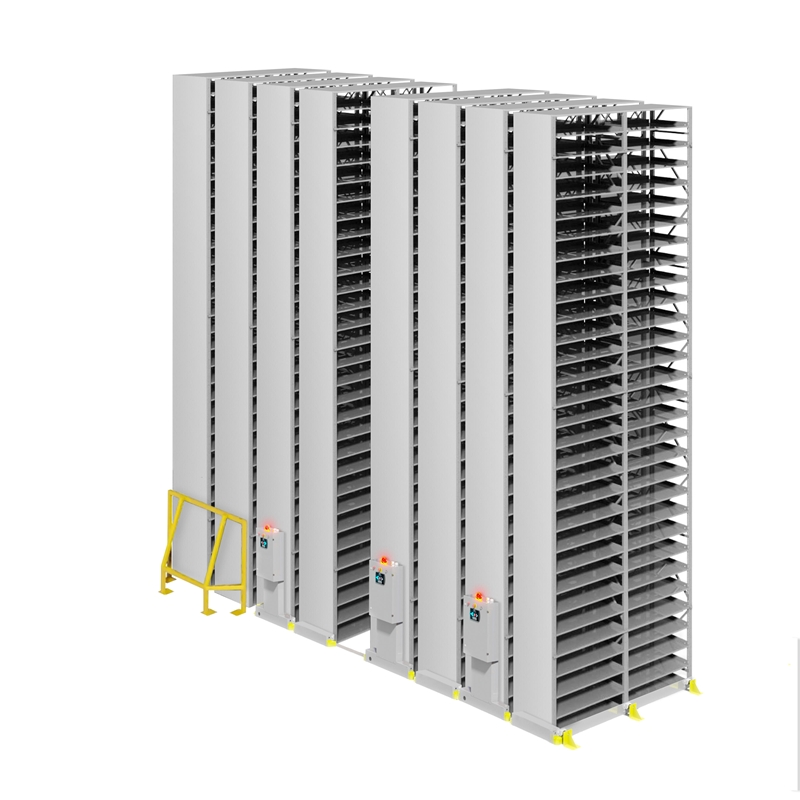 High-density HI-BAY MOBILE shelving from Montel